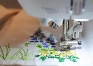 thread embroidery machine